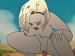 Dragon Ball Z Hentai: Android 18 and Trunks