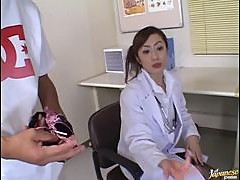 Horny Asian Nurse Thinks Fucking is the Best Painkiller