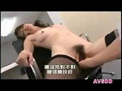 Horny asian secretary