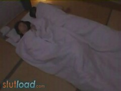 Hot japanese girl molested in sleep