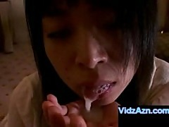 Feet toes dick sucking japanese tiny girl cum in mouth
