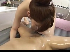 Japanese teen that enjoys engulfing schlong and licking toes