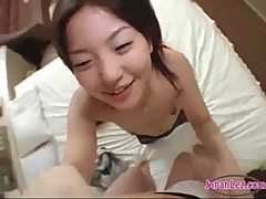 Petite Asian Girls Rubbing And Licking Tits Sucking Toes Pov On The Bed
