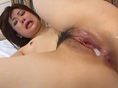 Petite asian anal fun
