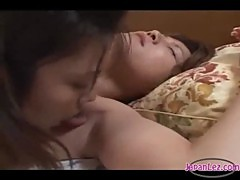 Skinny Asian Girl Getting Her Toes Sucked Armpit And Pussy Licked On The Bed In The Bedroom