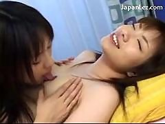 Slim Asian Girl Getting Her Nipples Toes Licked..
