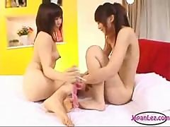 Young Girl With Tiny Tits Getting Her Toes..