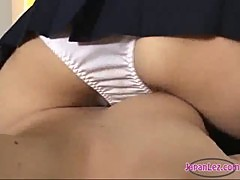 2 Schoolgirls In Skirts Sucking Toes Licking And Rubbing Pussies Scissor On The Mattress In The Room