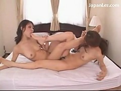 2 girls kissing passionately stripping licking fingers toes