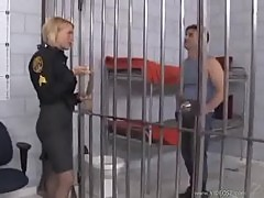 Krissy lynn is one foot fetish lady guard
