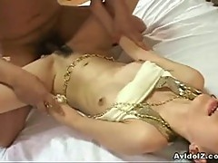 Rina yuuki gets fingered, eats cock and gets drilled