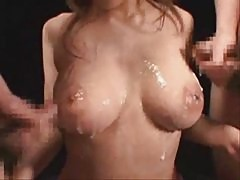 Super Sexy Japanese Threesome With Busty J Queen