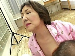 Mature Assian whore pissing after hot sex