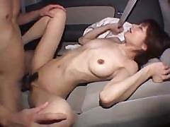 Aimi Goes For A Ride In The Car And Then On His Hard Cock