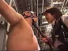 Policewoman punish prisoner
