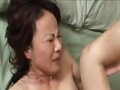 Horny Japanese Milf Gives Him Head And Then Gets Plowed Hard