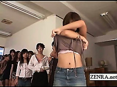 Bizarre CFNM face sitting game with Japanese amateurs