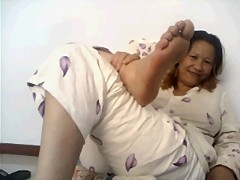 Chinese Mature Webcam Feet
